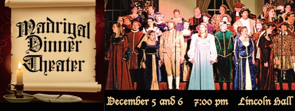 Madrigal Dinner @ Lincoln Hall | Foxburg | Pennsylvania | United States
